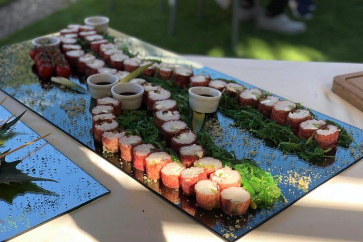 Ristorante Matrimonio - I Nostri Piatti - Buffet Di Sushi - Hotel Maloia