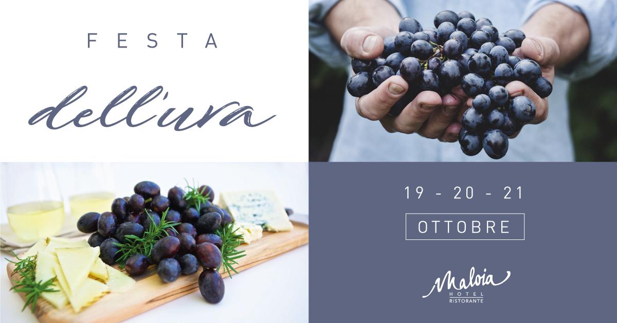Festa Dell'Uva: Il Primo Week End Gourmet Dell'Hotel Ristorante Maloia