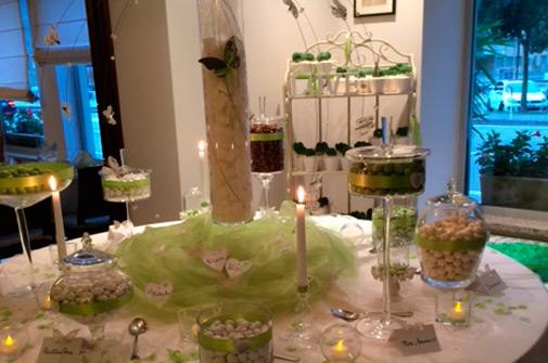 Ristorante matrimonio - Esempio di confettata - Hotel Maloia