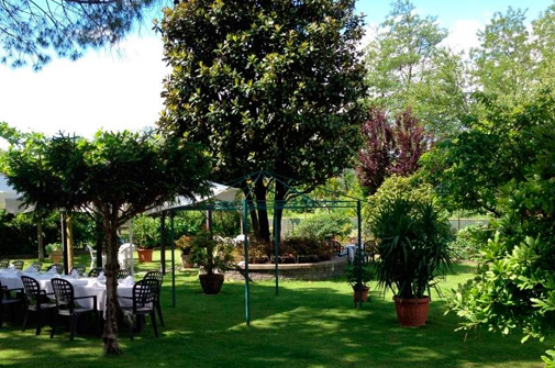Ristorante matrimonio - Il giardino - Hotel Maloia