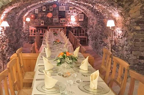 Ristorante matrimonio - La taverna - Hotel Maloia