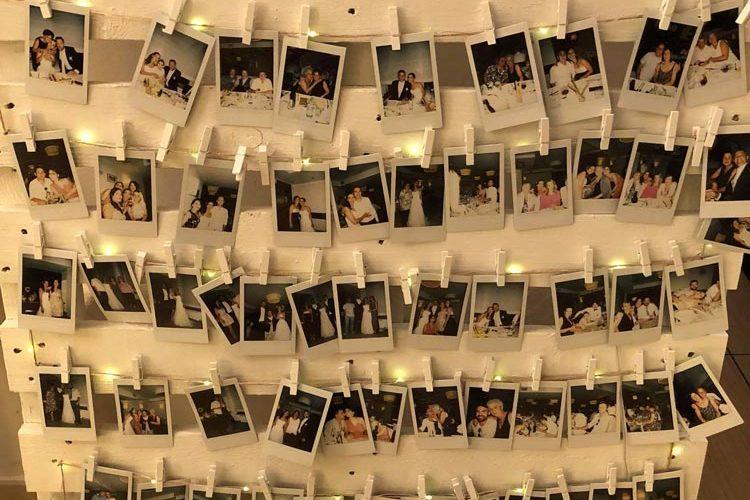 Ristorante Matrimonio - Cornice Con Foto Ricordo - Hotel Maloia