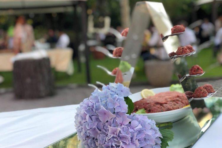 Ristorante Matrimonio - I Nostri Piatti - Buffet A Base Di Cruditè - Hotel Maloia